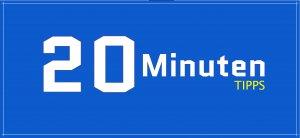 20 Minuten