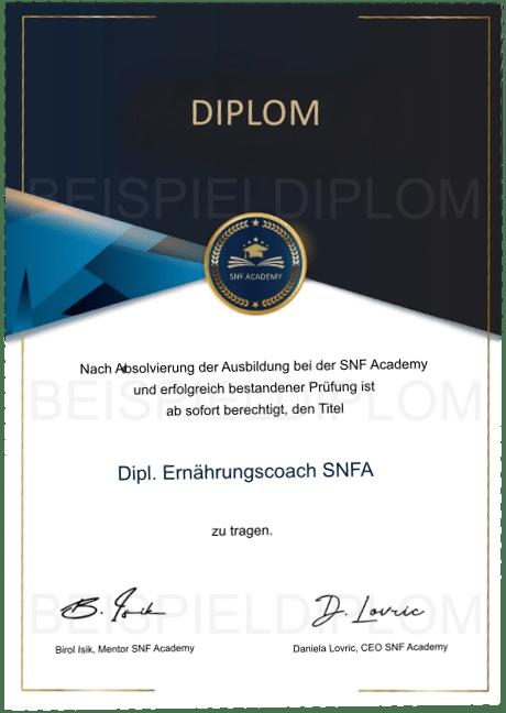 Diplom Ernaehrungscoach Ausbildung