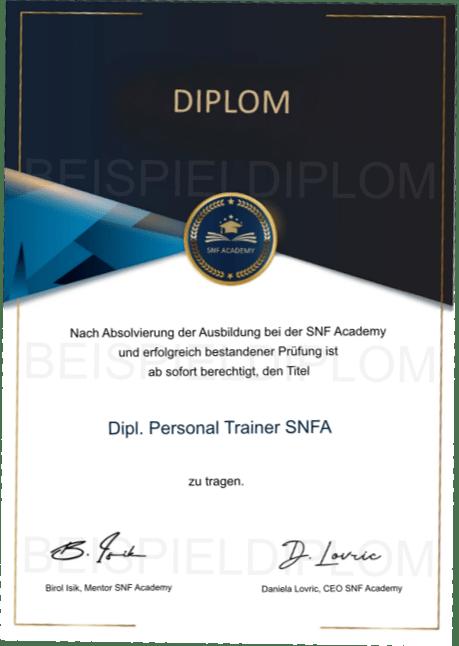 Diplom Personal Trainer Ausbildung